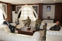 Tuğgeneral Tokel'den Vali Toprak'a Ziyaret