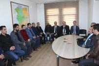 CEVAT GÜN - Vali Mantı Ve Başkan Barakazi Gazeteciler Cemiyetini Ziyaret Etti