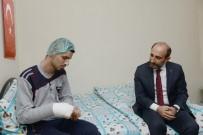 TABUR KOMUTANLIĞI - Yıldırım Belediye Başkanı'ndan Hakkari'de Gazi Olan Askere Ziyaret