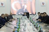 MEHMET ASLAN - Ziraat Oda Başkanları, DSİ'den Bilgi Aldı