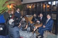 AK Parti İl Başkanı Keskin, Gazetecilerle Sohbet Etti