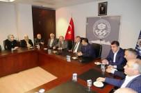 AK Parti Ortahisar İlçe Başkanı Altunbaş'tan, Büyükşehir Ve Ortahisar Belediyelerine Ziyaret