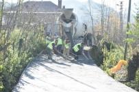 ALTINORDU - Altınordu'da Mahalleler Beton Yola Kavuşuyor