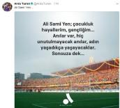 ALİ SAMİ YEN - Arda Turan'dan Ali Sami Yen paylaşımı