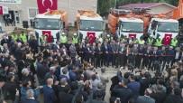 DAMPERLİ KAMYON - ASKİ Kanalizasyon Daire Başkanlığı'na 7 Adet Altyapı Aracı