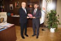 KENTSEL DÖNÜŞÜM PROJESI - Başkan Erdoğan'dan Bakan Yardımcısı Ceylan'a Ziyaret