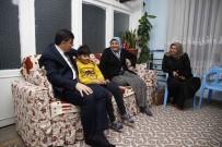 YARDIM MALZEMESİ - Başkan Fadıloğlu'ndan Çat Kapı Aile Ziyaretleri