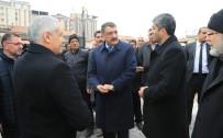 SERVİSÇİLER ODASI - Başkan Gürkan, Minibüsçü Esnafları İle Bir Araya Geldi