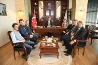 ADNAN MENDERES - Başkan Karabacak,  İlhan Bayram'ı Ağırladı