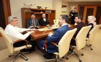 TÜRK DÜNYASI - Başkan Karaosmanoğlu, TÜGVA'yı Ağırladı