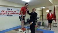 HÜSEYIN ÖNER - Burhaniye'de Halter İl Şampiyonası Yapıldı