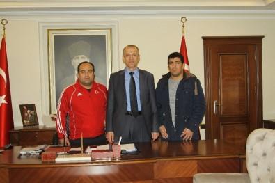 Çankırı'da Temizlik İşinde Çalışan Avrupa Şampiyonu Başka Göreve Alınacak