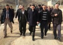 MADEN OCAĞI - CHP'den Maden Ocağına Tepki Gösteren Köylülere Destek