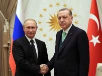 ASTANA - Cumhurbaşkanı Erdoğan Putin İle Suriye'yi Görüştü