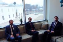 İSLAM BIRLIĞI - Diyanet İşleri Başkanı Erbaş, Amerikan İslam İlişkileri Konseyi Başkanı Awad'ı Kabul Etti
