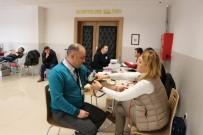 TÜRK KıZıLAYı - Emniyet Personelinden Kan Bağışına Destek