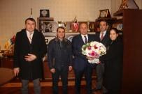 Engelliler Derneği'nden Arslan'a Teşekkür Ziyareti
