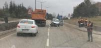 YENIKENT - Eskişehir'de Trafik Kazası; 1 Yaralı