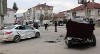 İZZET BAYSAL DEVLET HASTANESI - Felçli Hasta Taşıyan Otomobil Kaza Yaptı Açıklaması 1 Yaralı