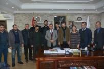 Gazetecilerden Başkan Köksoy'a Ziyaret