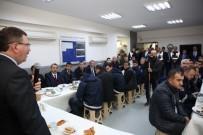 GÖKMEN - Genel Sekreter Bayram, Toplu Taşıma Dairesi Personeli Bir Araya Geldi