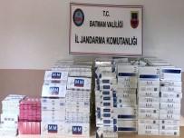 Gercüş'te 7 Bin 800 Paket Sigara Ele Geçirildi