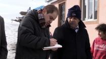 SAMANLıK - Kars'ta Fırtına Nedeniyle 22 Yapı Hasar Gördü