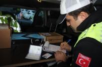 KAR LASTİĞİ - Kış Lastiği Takmayan Sürücülere Ceza Yağdı