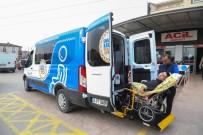 TEKERLEKLİ SANDALYE - Kocaeli  Büyükşehir Belediyesi'nden Engellilere Taksi Hizmeti