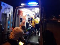 KADER - Kocaeli'de Karşıdan Karşıya Geçmek İsterken Otomobilin Çarptığı Kadın Yaralandı