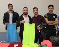AHMET KARA - Köy Okullarına Spor Malzemesi Desteği