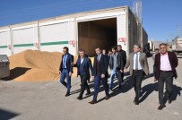 Mardin Gıda Tarım Ve Hayvancılık İl Müdürü Elçin'den Kızıltepe Hububat Ticaret Merkezine Ziyaret