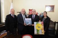 PTT Başmüdürü Ersoy, Ürgüp Belediye Başkanı Yıldız'ı Ziyaret Etti