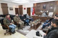 TARAFSıZLıK - Rektör Yardım, Gazetecilerle Bir Araya Geldi