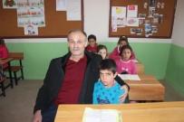 HAMIT YıLMAZ - Şehit Öğretmenin Babası Oğlunun Görev Yaptığı Okulda Ders Verdi