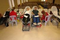 Tarım Personelinden Kan Bağışı
