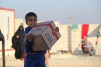 İDLIB - Türkiye Diyanet Vakfı, Hama'dan Gelen Aileler İçin Bin Çadır Kurdu