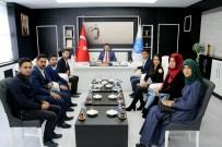MUSTAFA DOĞAN - ÜNİAK Topluluğundan Rektör Karacoşkun'a Ziyaret