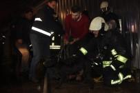 İTFAİYE ERİ - Yangında Mahsur Kalan Köpek Kurtarıldı