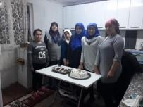 ABDULLAH ÇALIŞKAN - Yaş Pasta Yapımı Kursu'na İlgi