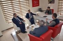 UĞUR POLAT - Yeşilyurt Belediye Başkanı Polat'tan İHA'ya Ziyaret