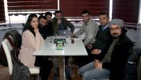 MEDYA ÇALIŞANLARI - Yüksekova'da Gazeteciler Bir Araya Geldi