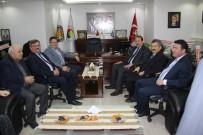 İL GENEL MECLİSİ - AK Parti Genel Başkan Yardımcısı Karacan'dan TSO'ya Taziye Ziyareti