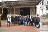 YUNUSEMRE - Başkan Çerçi Sanayi Esnafını Dinledi