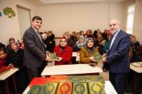 RıDVAN FADıLOĞLU - Belediye Başkanı Rıdvan Fadıloğlu'ndan Kursiyerlere Anlamlı Hediye