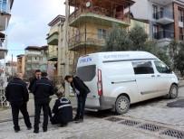 PAMUKKALE - Bıçakladığı Eşi Tarafından Eve Kilitlenen Koca, İnmeye Çalıştığı 2'Nci Kattan Yere Çakıldı