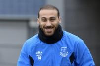 TOTTENHAM - Cenk Tosun, Everton Antrenmanında
