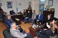TİCARET ODASI - CHP Heyeti Didim Ticaret Odası'nı Ziyaret Etti