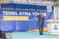 SU SIKINTISI - Doğu Kollektör Hattı Temel Atma Töreni Gerçekleştirildi