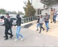 İş Yerinde Hırsızlık Yapan Suriye Uyruklu 5 Kişi Yakalandı